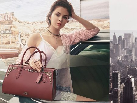Selena Gomez Teams Up with Coach for Fall 2018 Collaboration