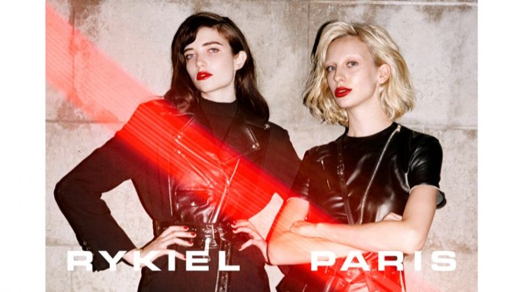 Grace Hartzel and Lili Sumner star in Sonia Rykiel fall-winter 2018 campaign
