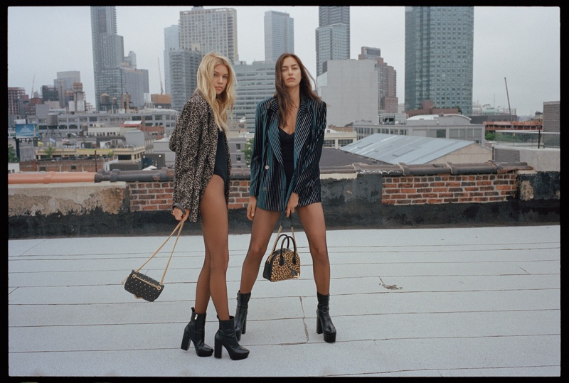 The Kooples taps Stella Maxwell and Irina Shayk for its fall-winter 2018 campaign