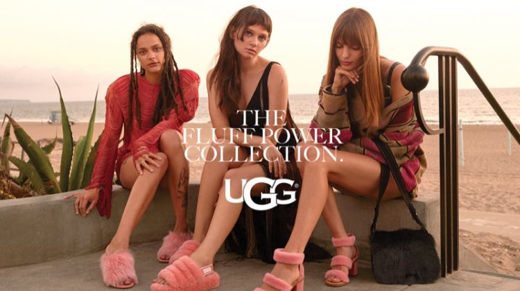 Sasha Lane, Clementine Creevy and Lola McDonnell star in UGG fall-winter 2018 campaign