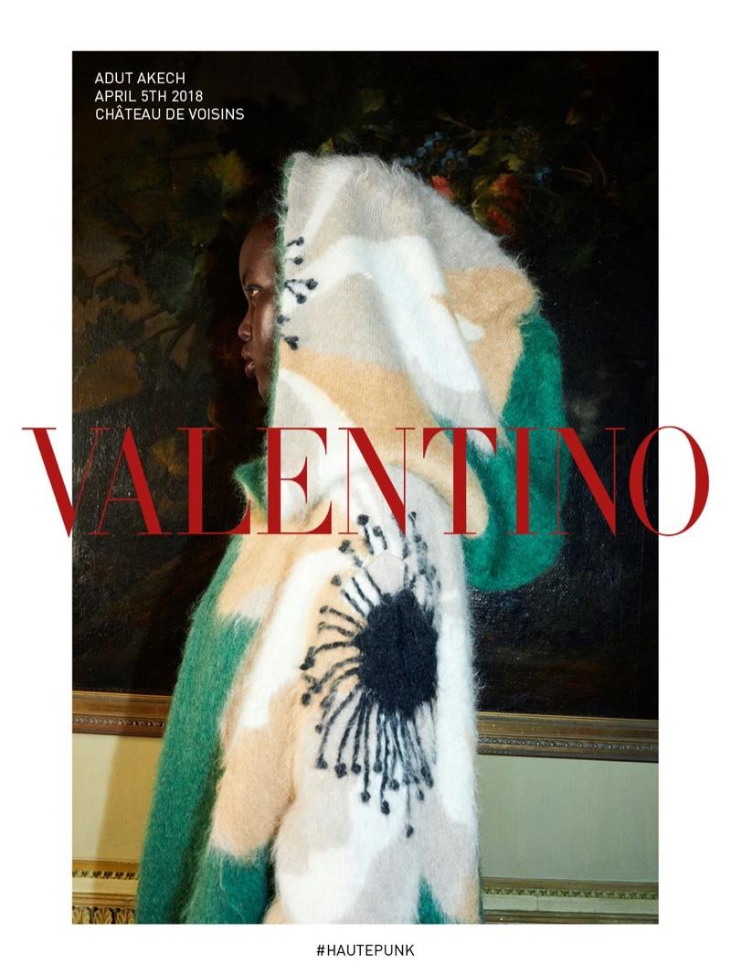 Juergen Teller photographs Valentino fall-winter 2018 campaign