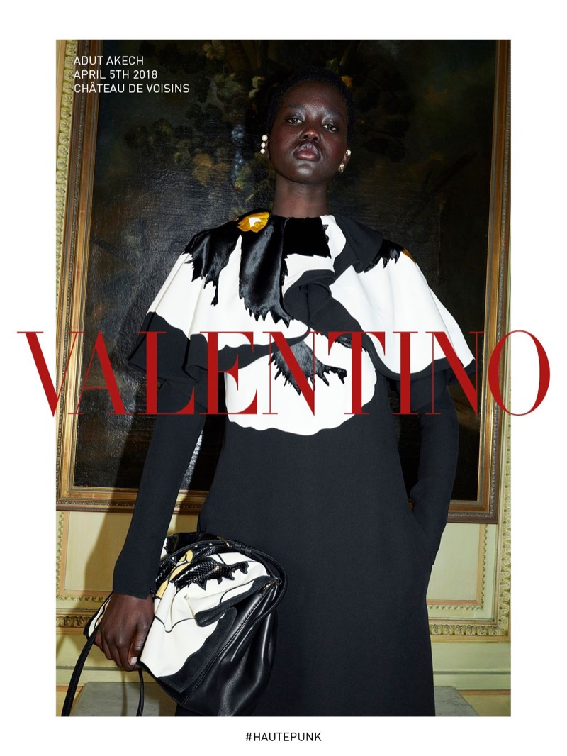 An image from the Valentino fall 2018 adverting campaign
