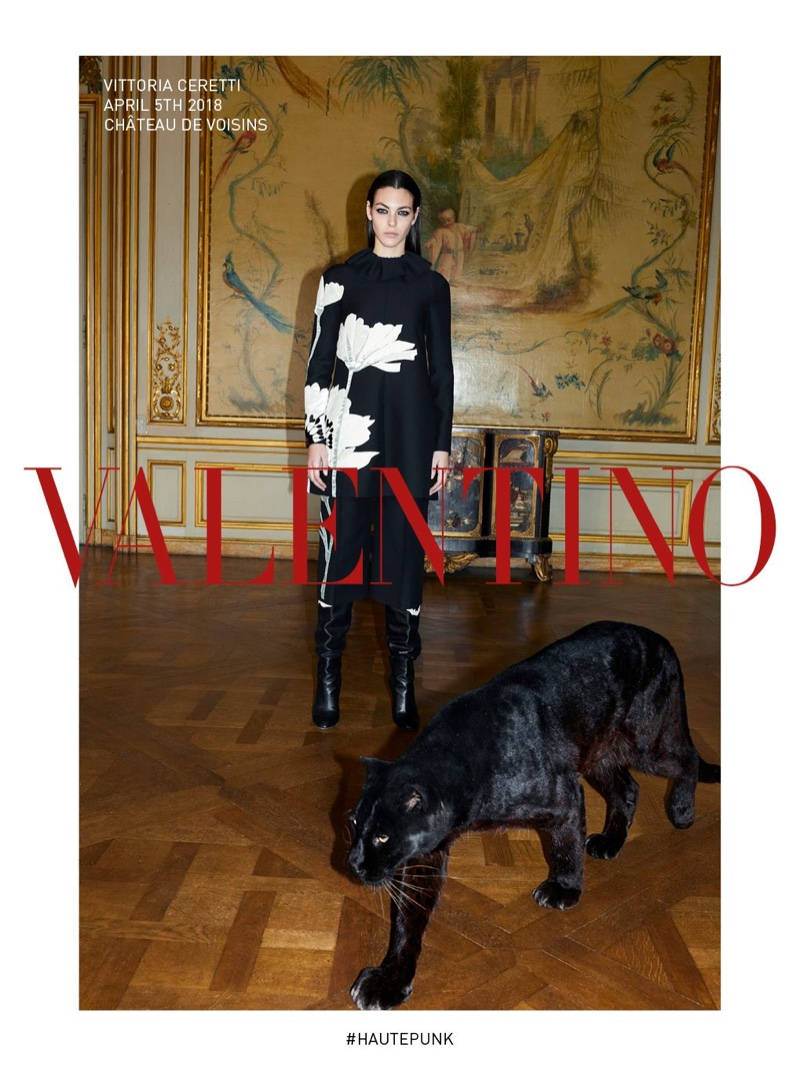 Valentino launches fall-winter 2018 campaign