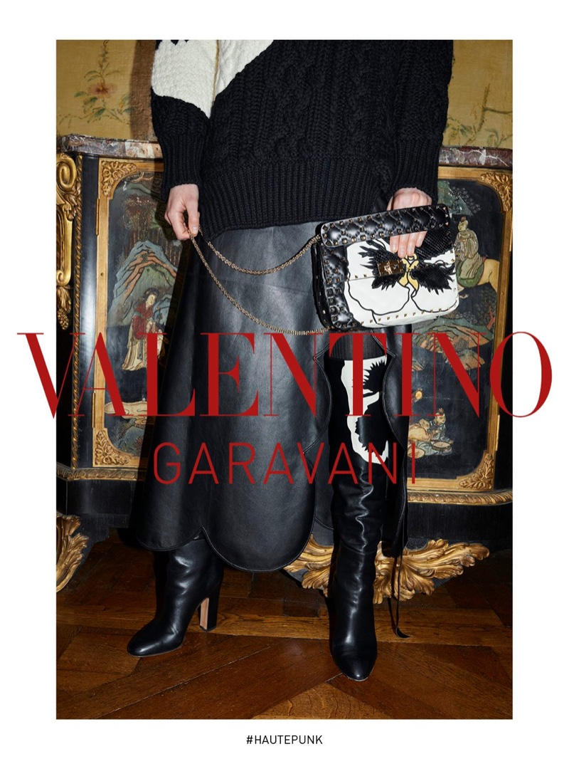 An image from the Valentino fall-winter 2018 campaign