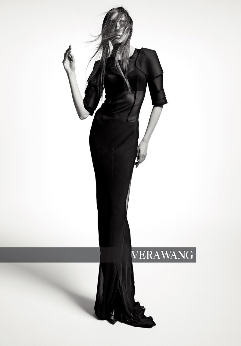 Odette Pavlova stars in Vera Wang fall-winter 2018 campaign