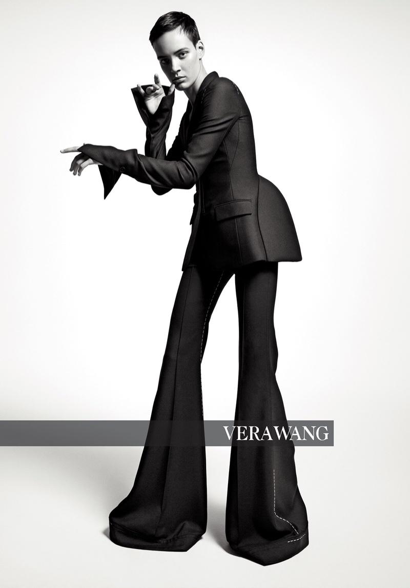 Oslo Grace appears in Vera Wang fall-winter 2018 campaign
