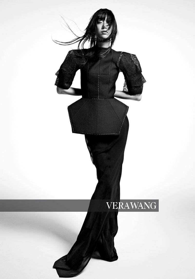 Sora Choi stars in Vera Wang fall-winter 2018 campaign