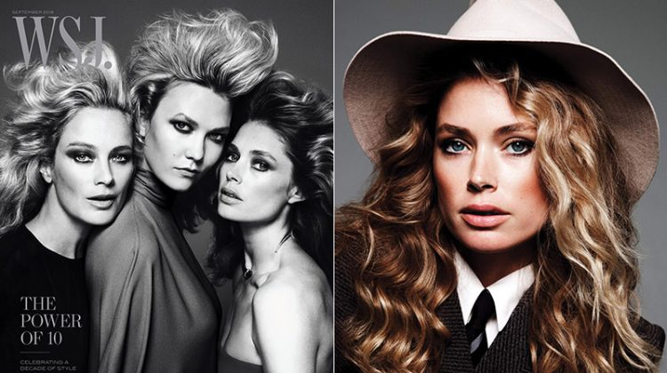 Karlie Kloss, Doutzen Kroes + More Top Faces Star in WSJ. Magazine