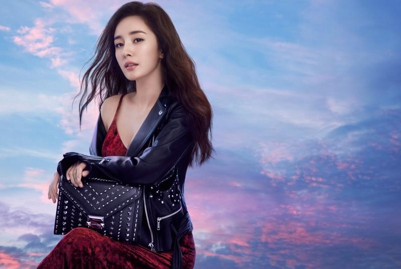 Yang Mi stars in Michael Kors x Yang Mi Whitney handbag campaign