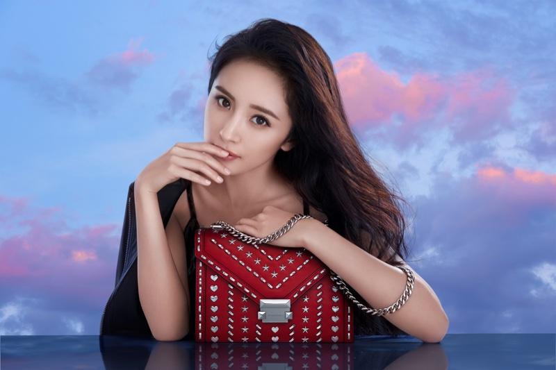 Chinese actress Yang Mi stars in Michael Kors x Yang Mi Whitney handbag campaign