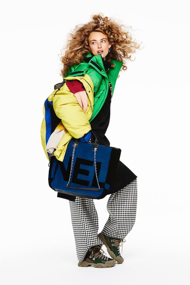 Ymre Stiekema Wears Bold Outerwear for InStyle Germany