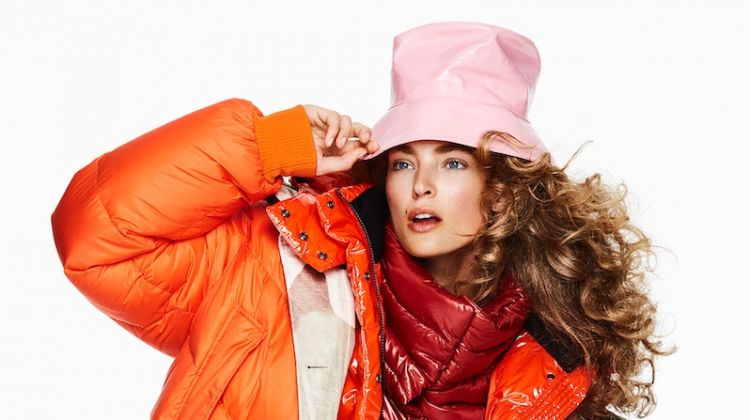 Ymre Stiekema Wears Bold Outerwear for InStyle Germany