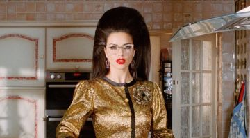 Adriana Lima Plays a Fashionable Housewife for W Magazine