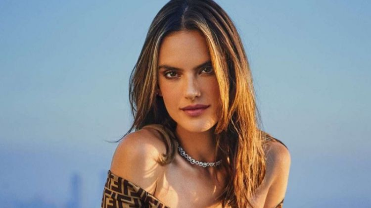 Alessandra Ambrosio Brings California Vibes to InStyle Russia