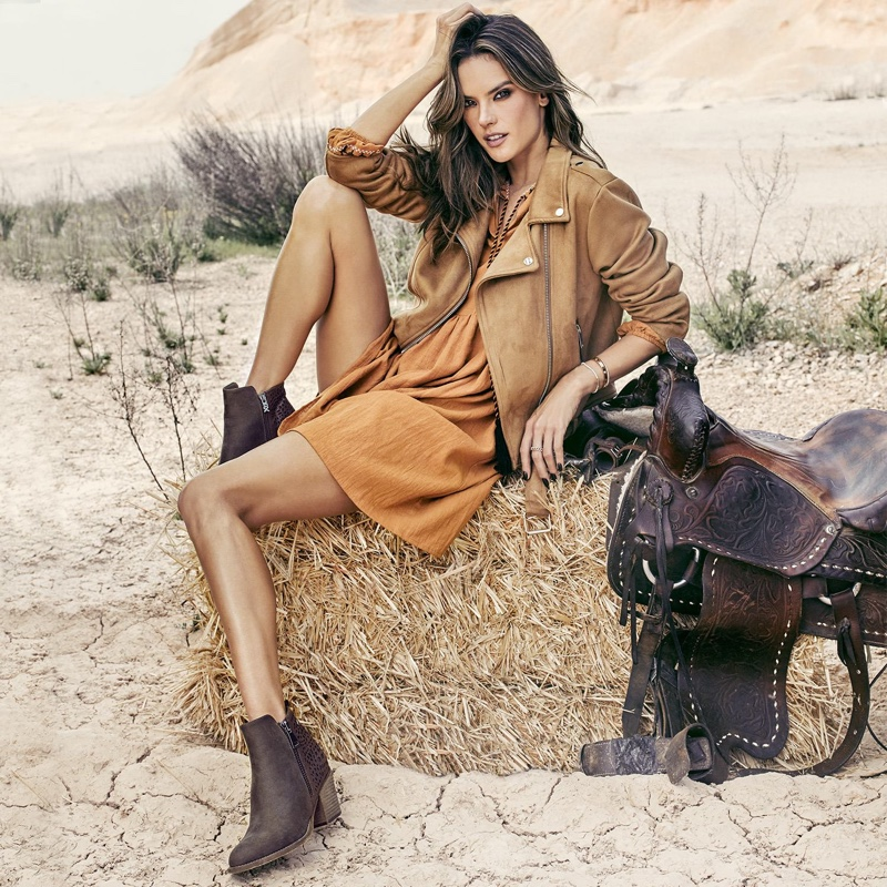 XTI Shoes taps Alessandra Ambrosio for fall-winter 2018 campaign