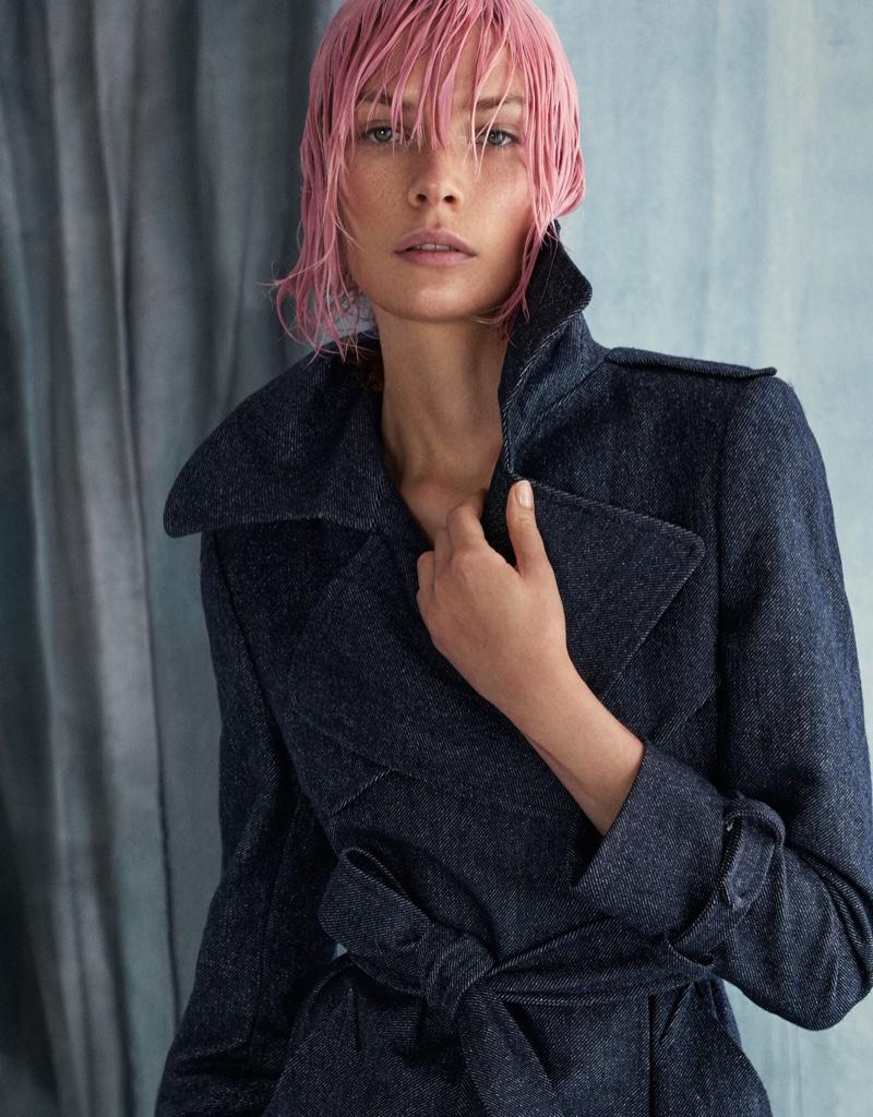 Alexandra Martynova Poses in Shades of Blue for Grazia Italy