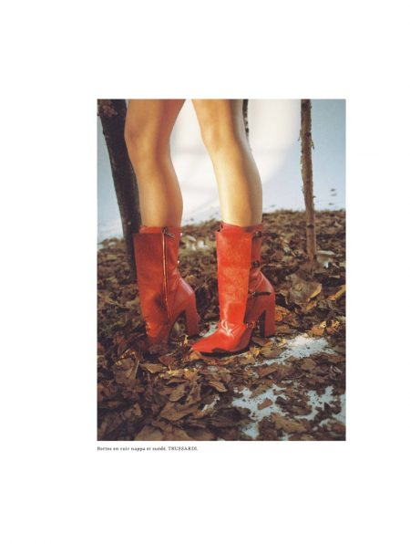 Alice Dellal Poses in Fashion Forward Looks for L'Officiel Switzerland