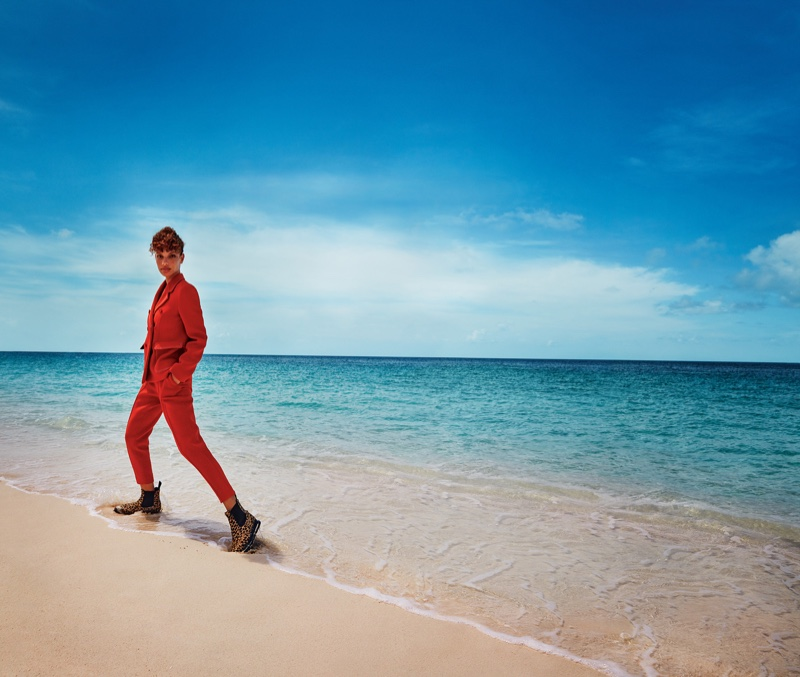 Alicia Herbeth Models Vacation-Ready Looks in Four Seasons Magazine
