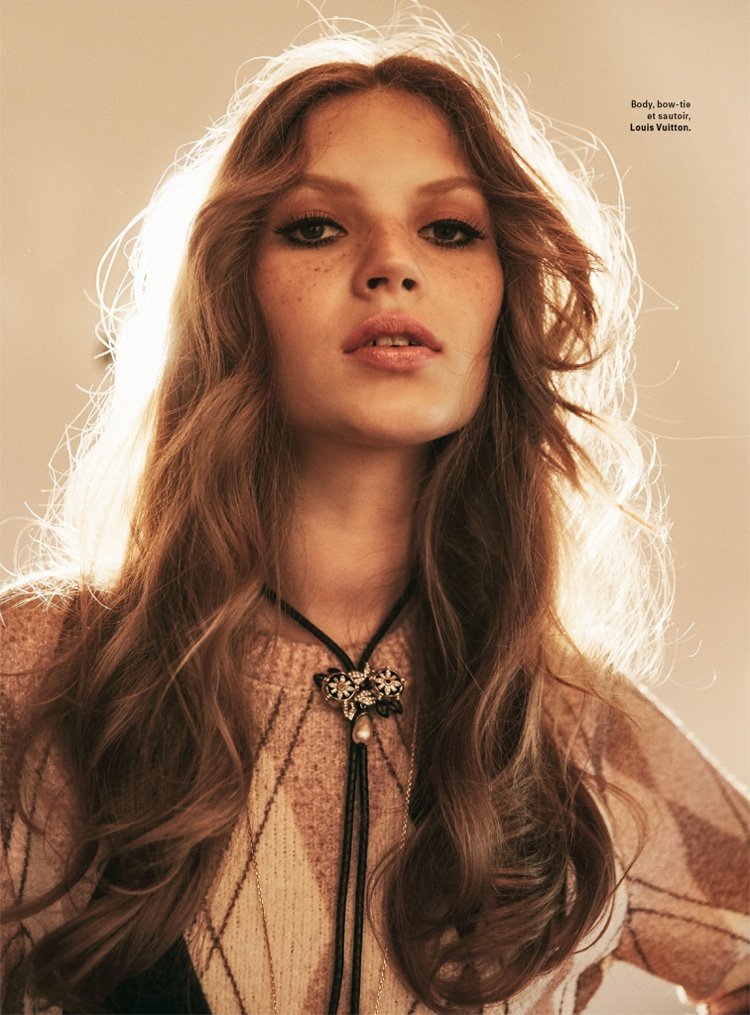 Anabel Krasnotsvetova Embraces Bohemian Styles for Grazia France