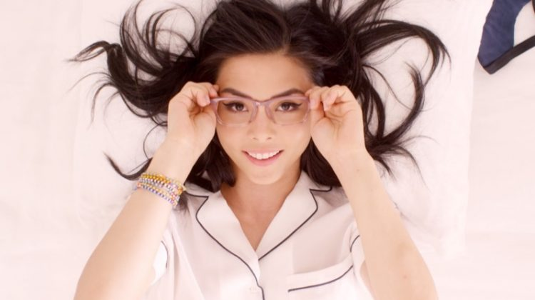 Anna Akana x Warby Parker glasses collaboration