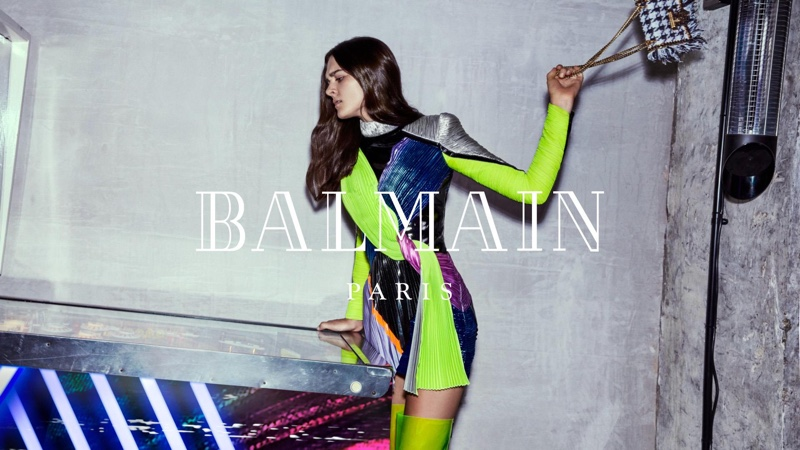 Balmain taps Charlotte Lawrence for fall-winter 2018 campaign