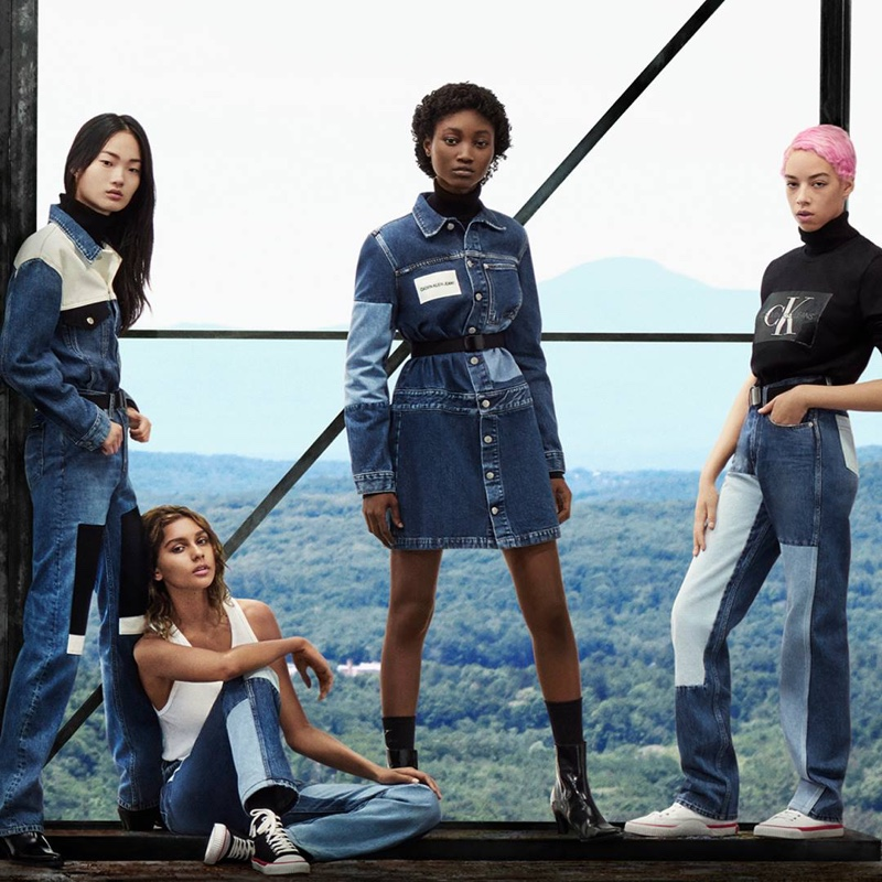 An image from the Calvin Klein Jeans fall 2018 advertising campaign