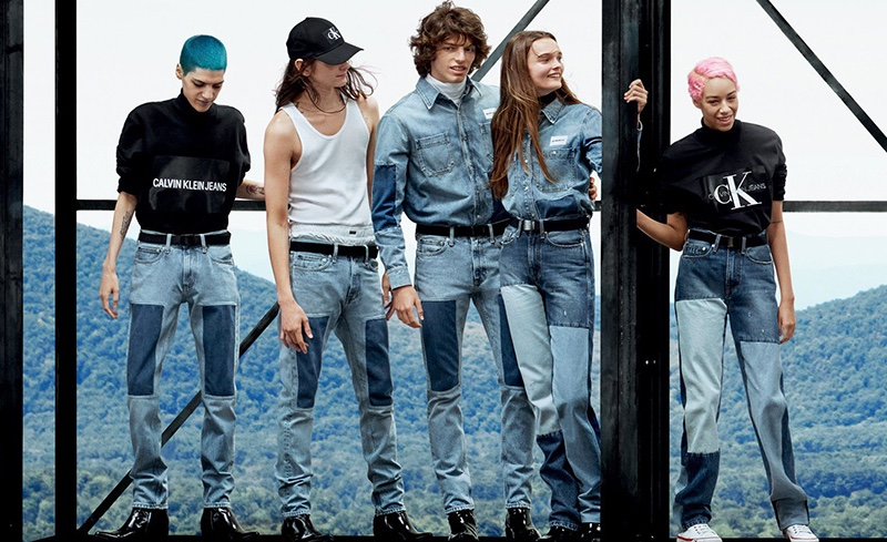 Willy Vanderperre photographs Calvin Jeans fall-winter 2018 campaign