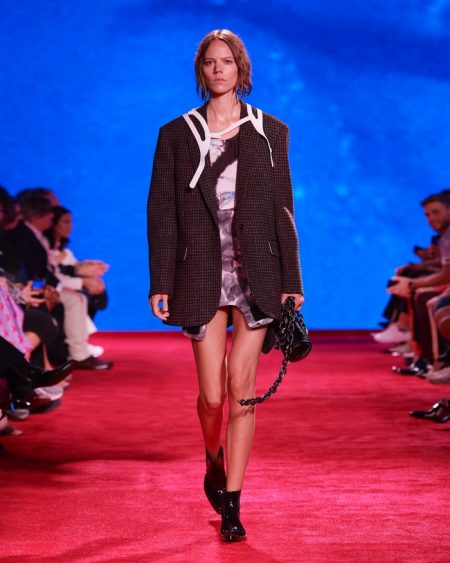 Calvin Klein Brings 'Jaws' to the Runway for Spring 2019
