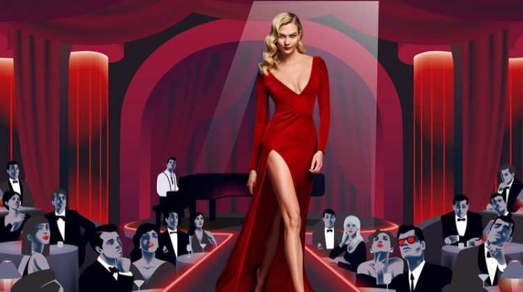 Karlie Kloss stars in Carolina Herrera Good Girl Velvet Fatale fragrance campaign