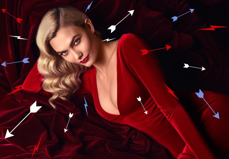 Carolina Herrera taps Karlie Kloss for Good Girl Velvet Fatale fragrance campaign