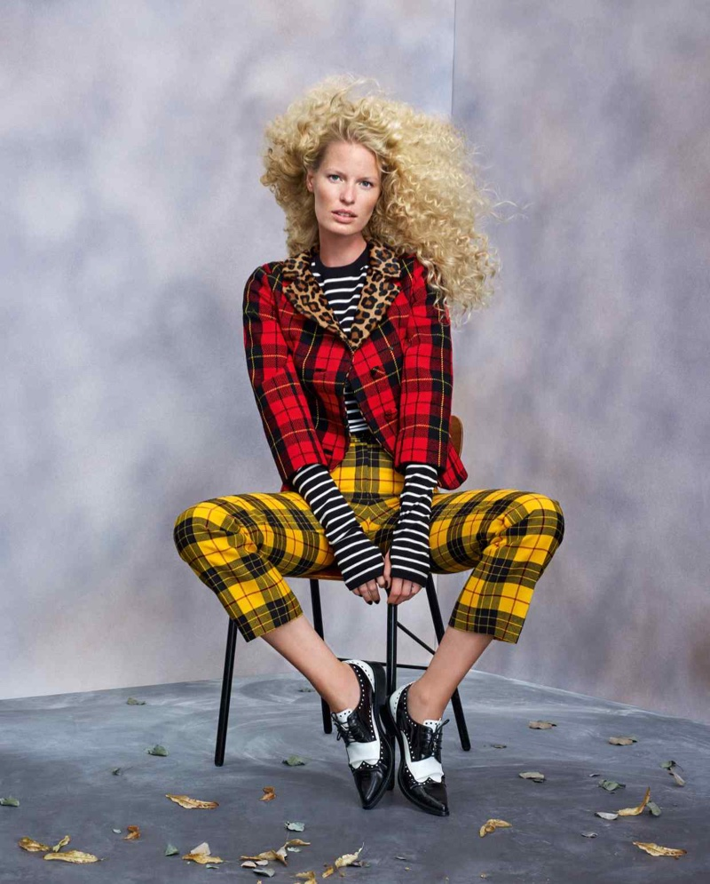 Caroline Winberg Poses in Striking Fashions for How to Spend It