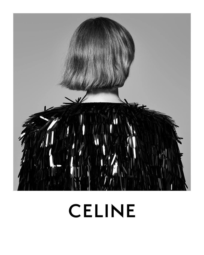 Hedi Slimane photographs Celine Introductory 2018 campaign