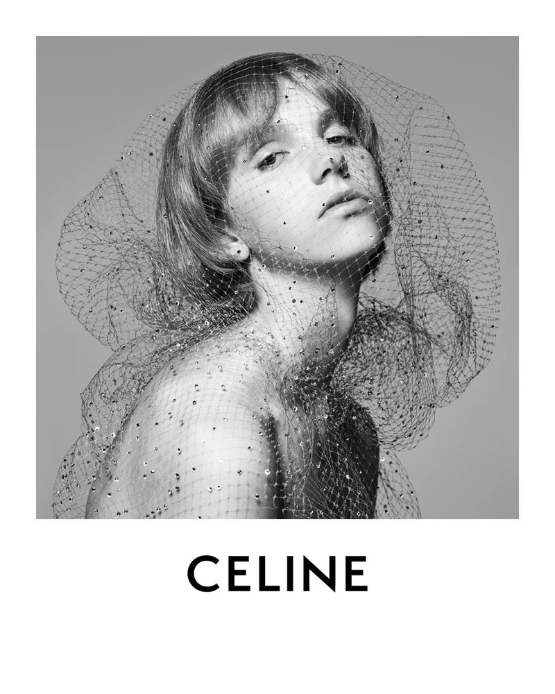 Bente Oort for Celine Introductory 2018 campaign