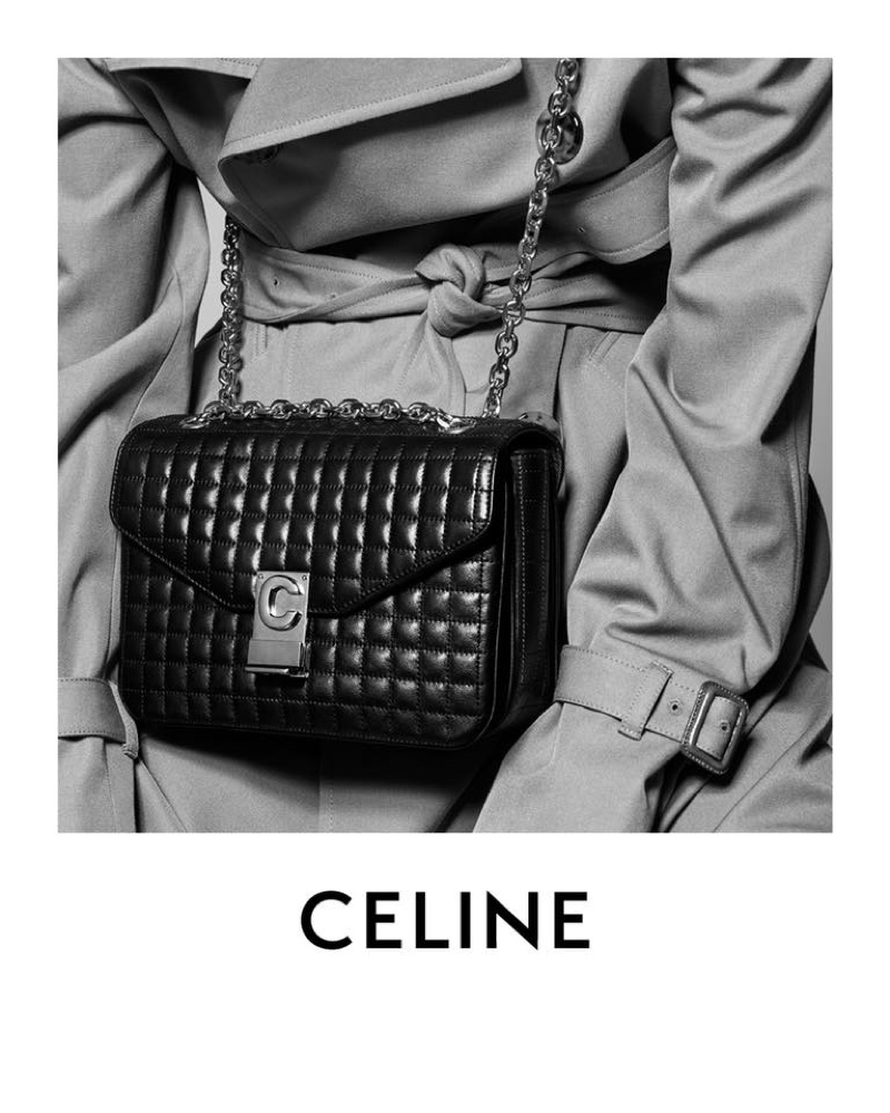 Celine monogram C bag