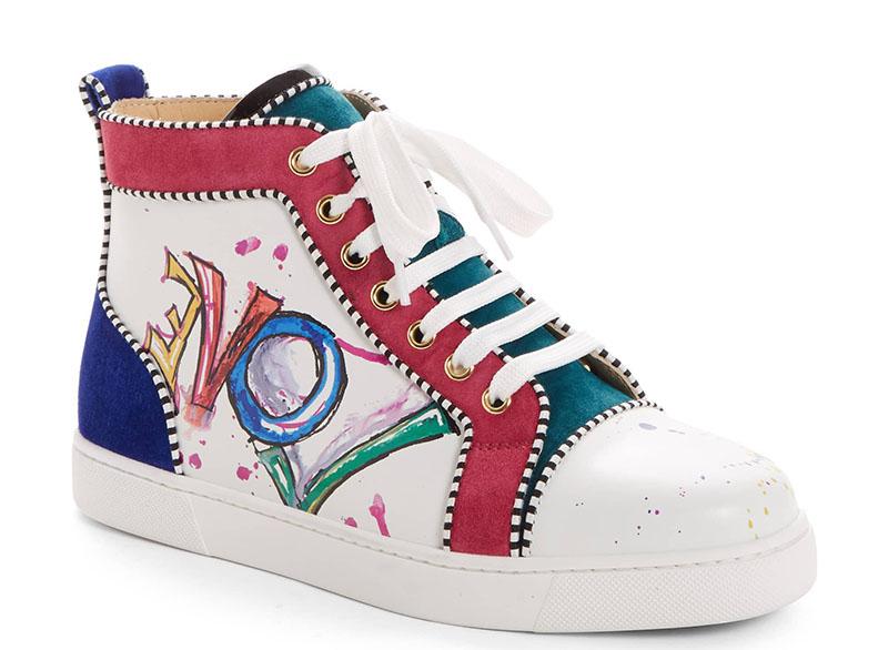 Christian Louboutin Love High Top Sneaker $945
