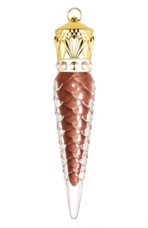 Christian Louboutin Metalinudes Loubilaque Lip Lacquer - Bronzissima