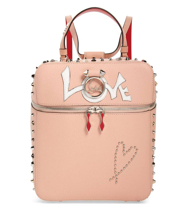 Christian Louboutin Rubylou Love Leather Backpack $1,990