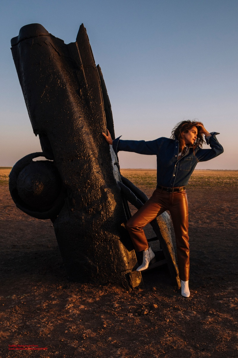 Supermodel Cindy Crawford is the face of Acne Studios fall-winter 2018 campaign