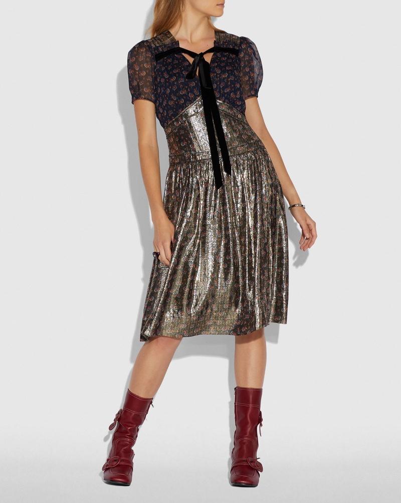 Coach Daisy Print Dress $895