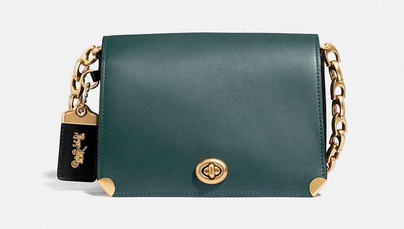 Coach Dinky 19 Bag in Colorblock $495