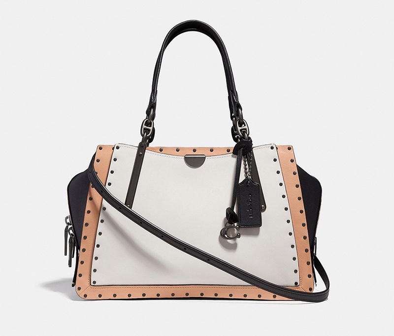Coach Dreamer Bag with Rivets $550
