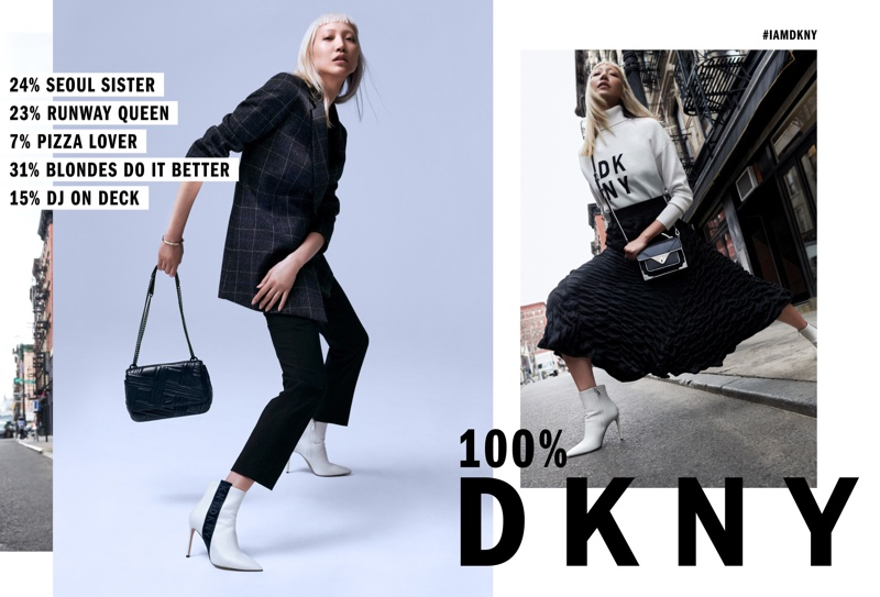 Soo Joo Park fronts DKNY fall-winter 2018 campaign