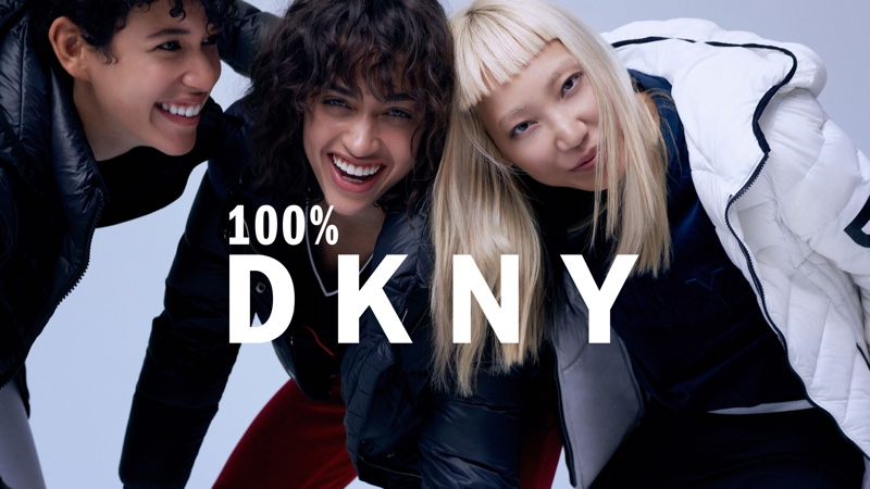 Dilone, Alanna Arrington and Soo Joo Park star in DKNY fall-winter 2018 campaign