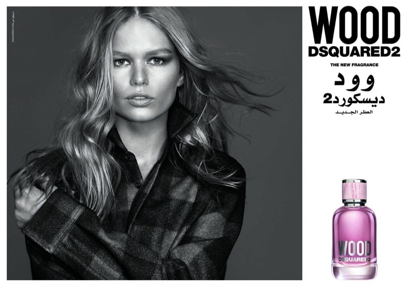 Anna Ewers stars in DSquared2 Wood fragrance campaign