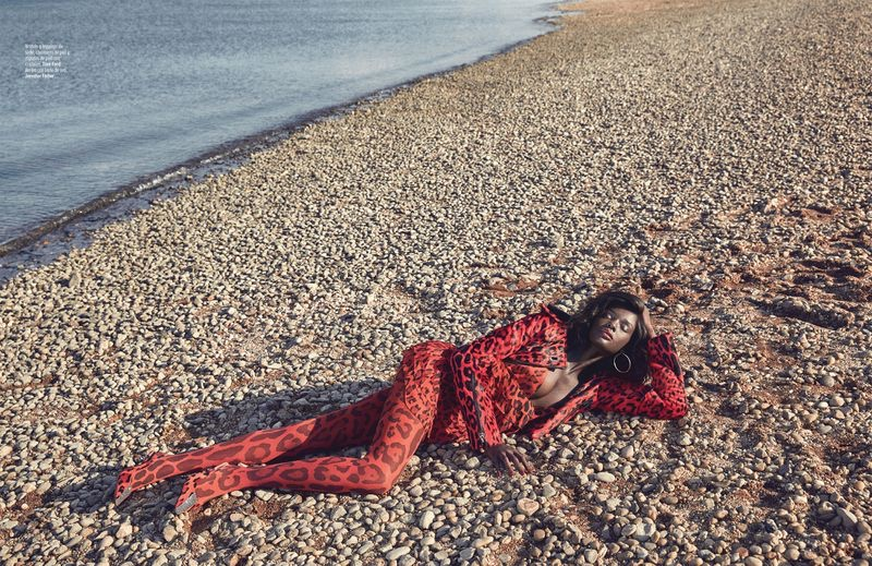 Duckie Thot Embraces Bold Prints for Marie Claire Mexico