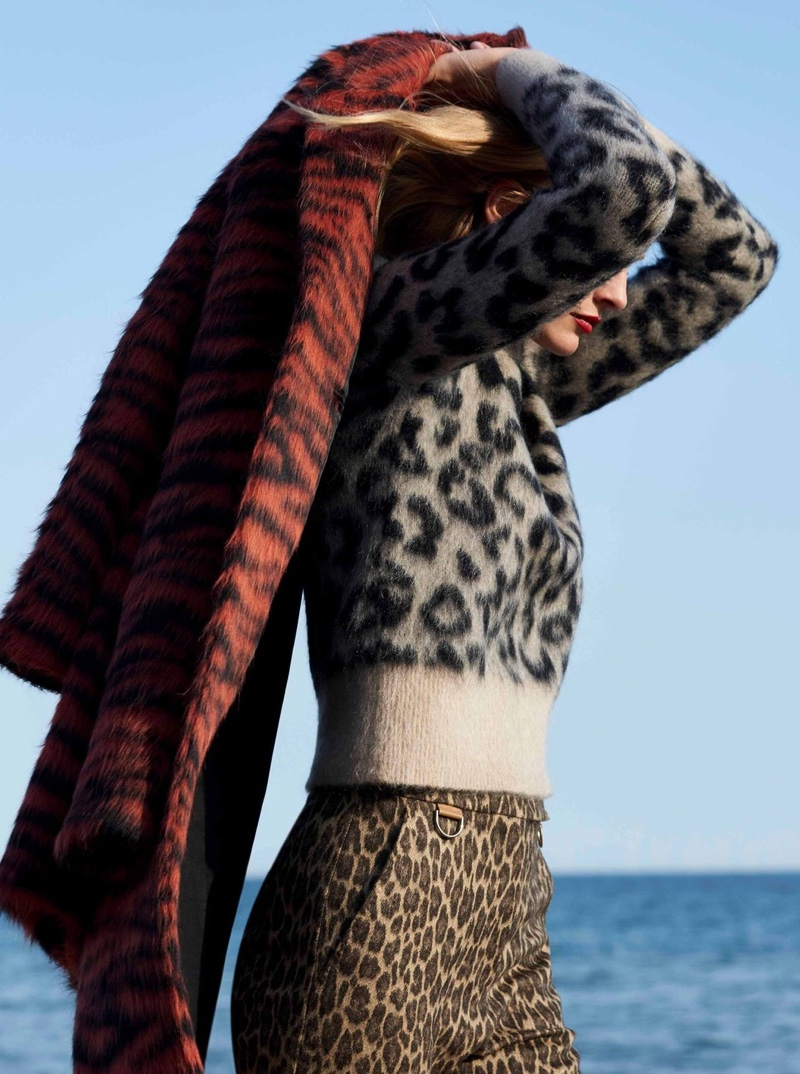 Edita Vilkeviciute Layers Up in Cozy Looks for Sunday Times Style