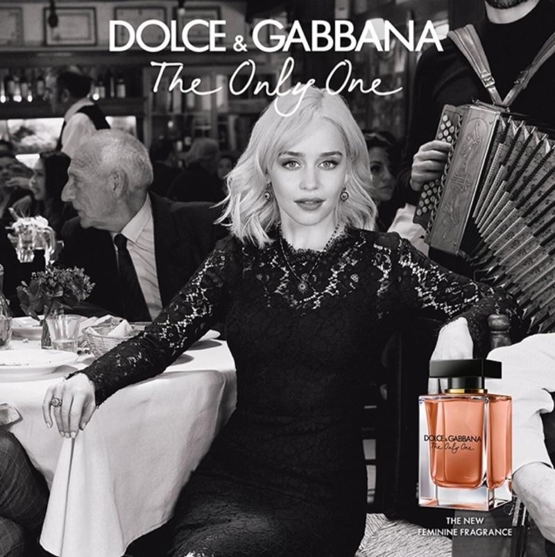 Emilia Clarke | Dolce & Gabbana | The Only One