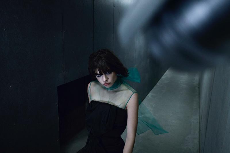 Eva Dolezalova is a Girl On the Run for IN Magazine