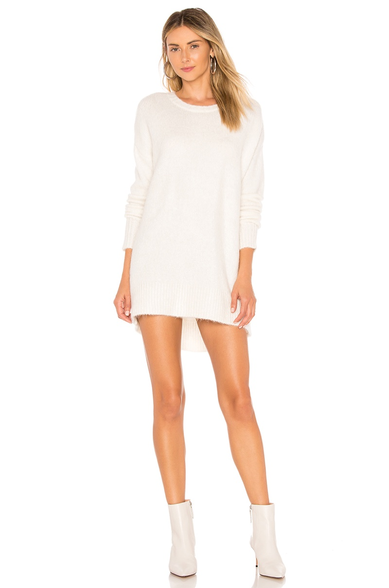 For Love & Lemons Dylan Boyfriend Sweater Dress $198