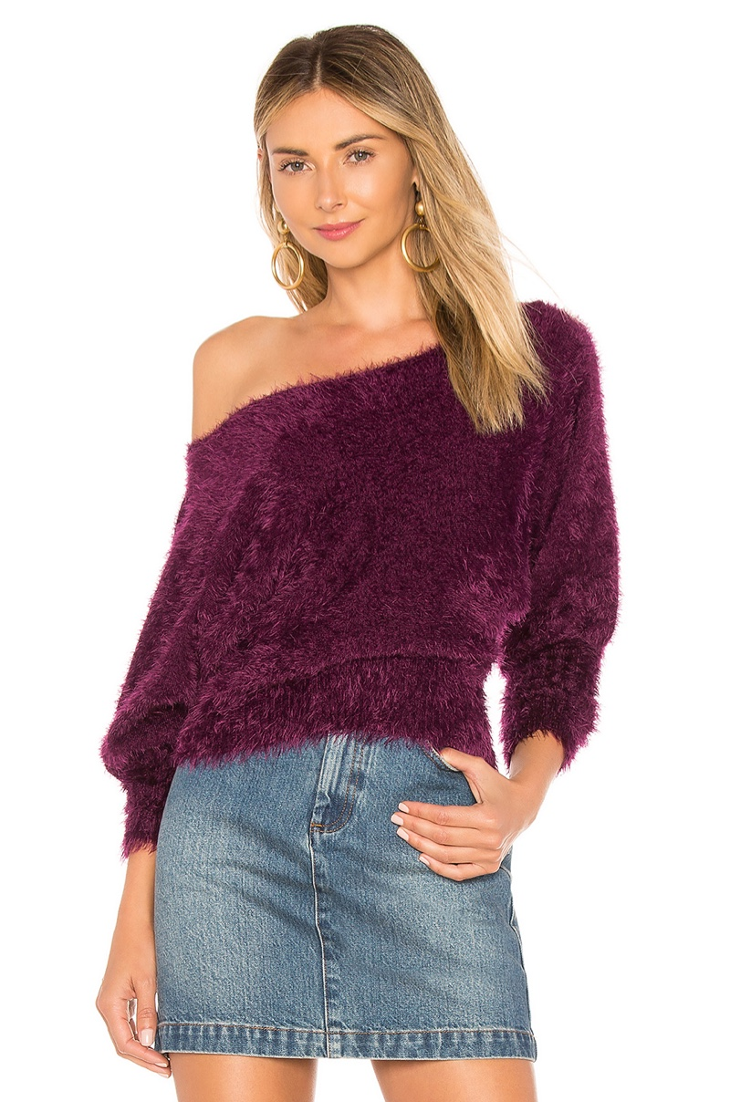 For Love & Lemons Lou Slouchy Sweater $158